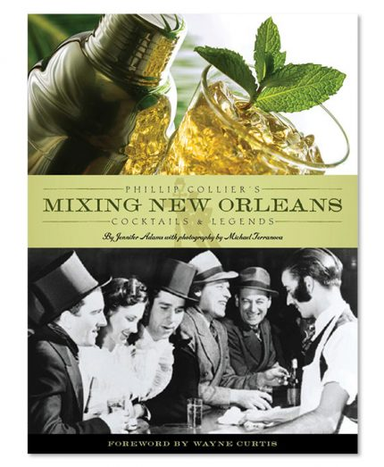 Book design for Phillip Collier's Mixing New Orleans.
