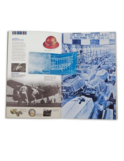 Commemorative brochure designed for D-Day Museum in New Orleans.