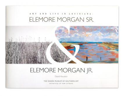 Book design for artists Elemore Morgan Sr. and Elemore Morgan Sr. for Ogden Museum of Southern Art.