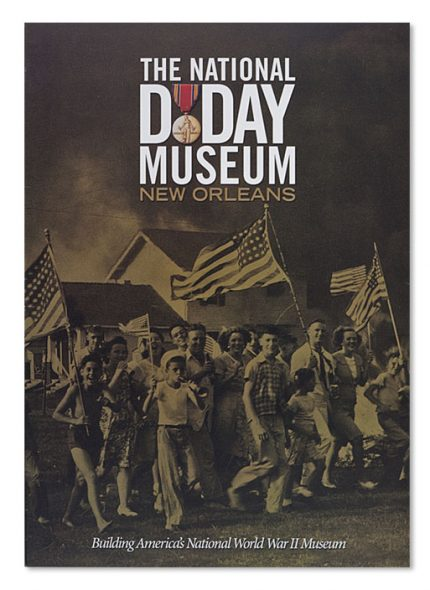 Brochure design for expansion of The National WWII Museum.