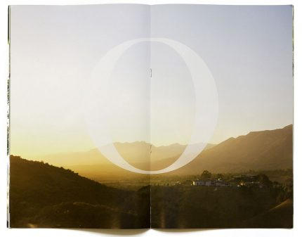Brochure design for Ojai Valley School.