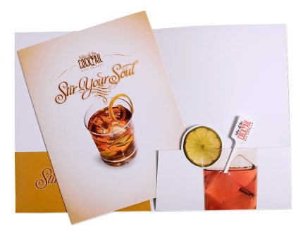 Collateral design for Tales of the Cocktail.