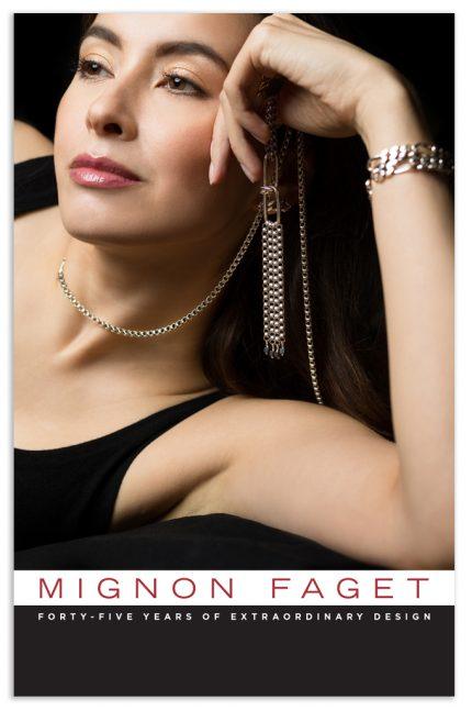 Catalog design for Mignon Faget.